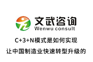 C+3+N模式是如何實現讓中國制造業快速轉型升級的
